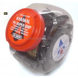Karakal PU Super Replacement Grip (36 pieces in Black Colour )
