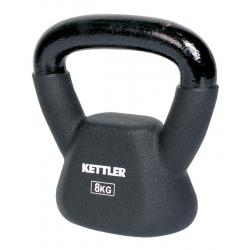 Kettler 8kg Neoprene Kettlebell KA0604-000 Home Workout Gym (Enquiry)