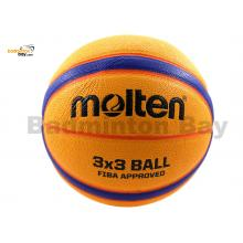 Molten B33T5000 - 3 On 3 Basketball Size 6 (With Size 7 Weight) Composite Leather FIBA Approved Indoor Outdoor