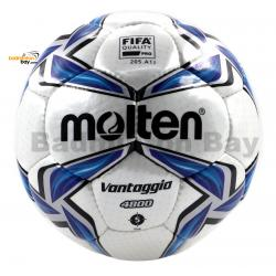 Molten F5V4800 Football VANTAGGIO White Blue Size 5 FIFA