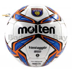 Molten F5V1700 Football VANTAGGIO White, Blue & Orange Size 5