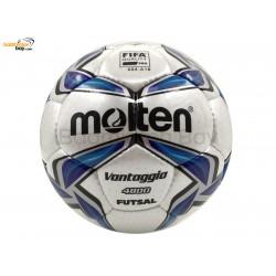 Molten F9V-4800 Official Vantaggio Futsal Ball Hand Stitched