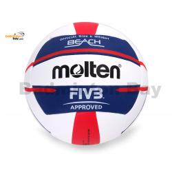 Molten Elite V5B5000 Beach Volleyball FIVB Approved, Official Outdoor (Replacement for BV5000 Beach Volleyball)