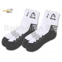 Abroz Badminton Sports Socks SC110 Grey (2 pairs)