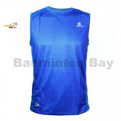 Apacs Dri-Fast AP10056 Royal Blue Sleeveless T-Shirt Quick Dry Sports Jersey