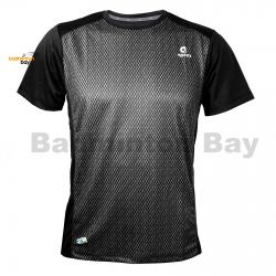 Apacs Dri-Fast AP10107 Black T-Shirt Quick Dry Sports Jersey