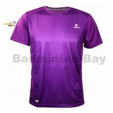 Apacs Dri-Fast AP10107 Purple T-Shirt Quick Dry Sports Jersey