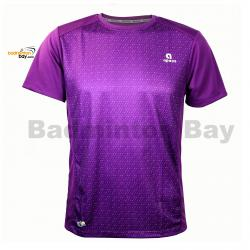 Apacs Dri-Fast AP10107 Purple T-Shirt Quick Dry Sports Jersey