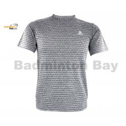 Apacs Dri-Fast AP-20202 Grey T-Shirt Quick Dry Sports Jersey