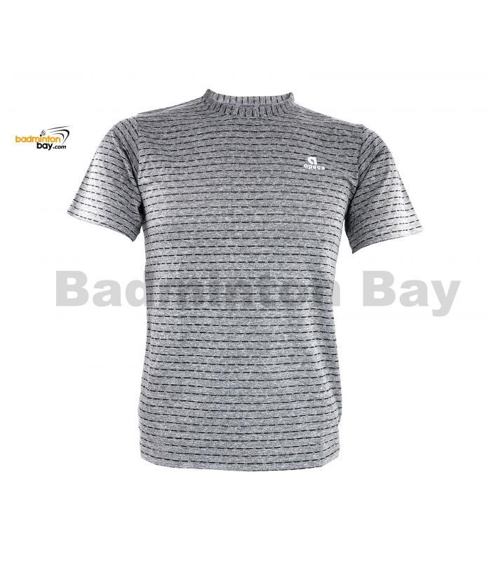 Apacs Dri-Fast AP-20202 Grey T-Shirt Quick Dry Sports Jersey