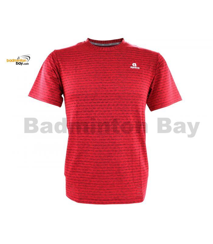 Apacs Dri-Fast AP-20202 Red T-Shirt Quick Dry Sports Jersey