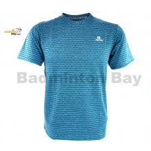 Apacs Dri-Fast AP-20202 Turquoise Blue T-Shirt Quick Dry Sports Jersey
