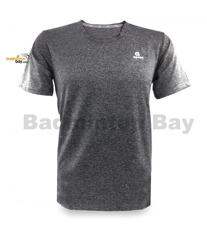 Apacs Dri-Fast AP-20205 Grey T-Shirt Quick Dry Sports Jersey