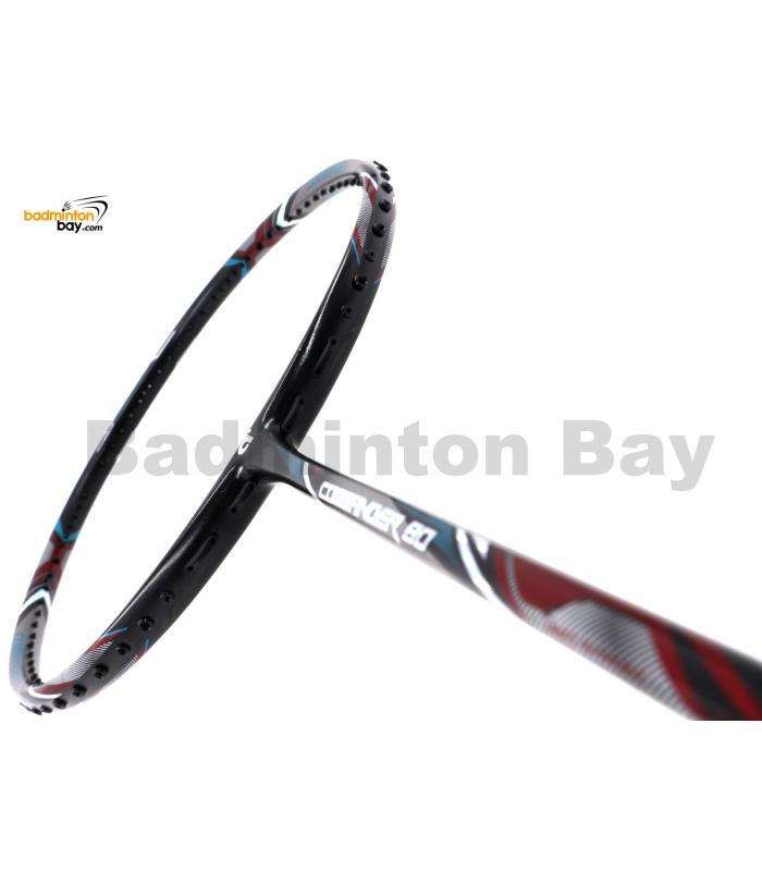 Apacs Commander 80 Black Grey Badminton Racket (5U-G1)