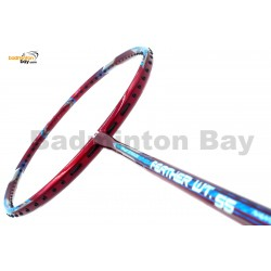 Apacs Feather Weight 55 Red Badminton Racket (8U) World Lightest Badminton Racket