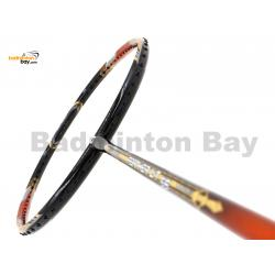 Apacs Feather Weight 55 Black Orange Badminton Racket (8U) Worlds Lightest Badminton Racket