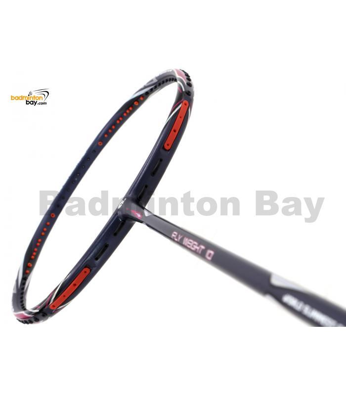 Apacs Flyweight 10 Navy Blue Compact Frame Badminton Racket 7U
