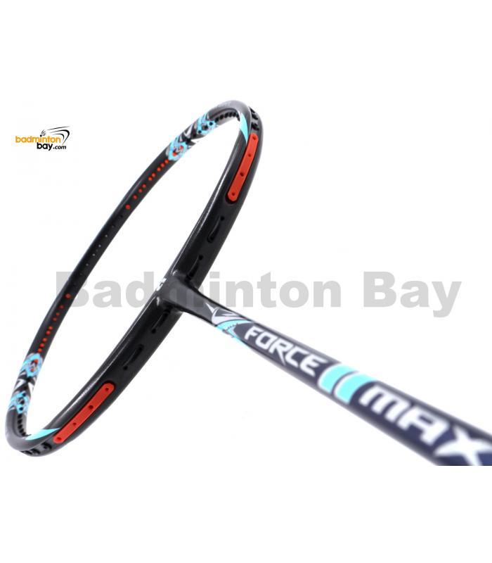 Apacs Force II Max Dark Grey 4U (Replacement For Z Ziggler Force 2) Compact Frame Badminton Racket