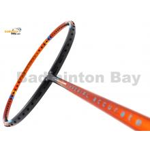 Apacs Imperial Accurate Dark Grey Orange Badminton Racket (5U)