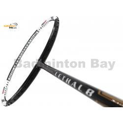 Apacs Lethal 8 Black White (4U) Badminton Racket