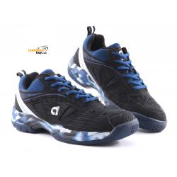 Apacs Cushion Power SP-608F III Black Blue Badminton Shoes With Improved Cushioning