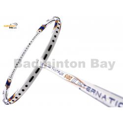 Apacs Tantrum 500 International III White Matte Badminton Racket (3U)