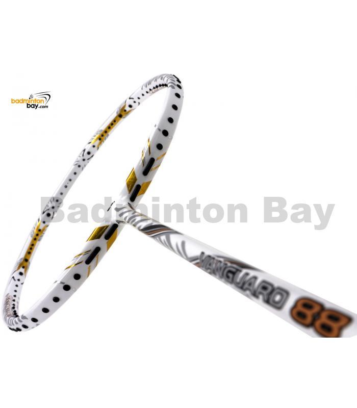 Apacs Vanguard 88 White Badminton Racket  (4U)