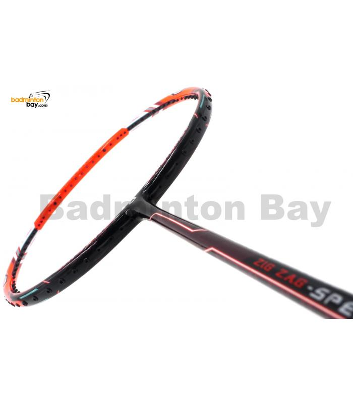 Apacs Zig Zag Speed Orange (Prime Version) Compact Frame Badminton Racket (4U)