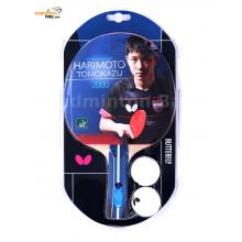 Butterfly Harimoto Tomokazu 2000 Shakehand Table Tennis Wood Racket Preassembled With Rubber