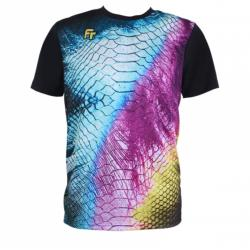 Felet Round Neck Quick Dry Fast FT RN 3548 Sports T-Shirt Jersey