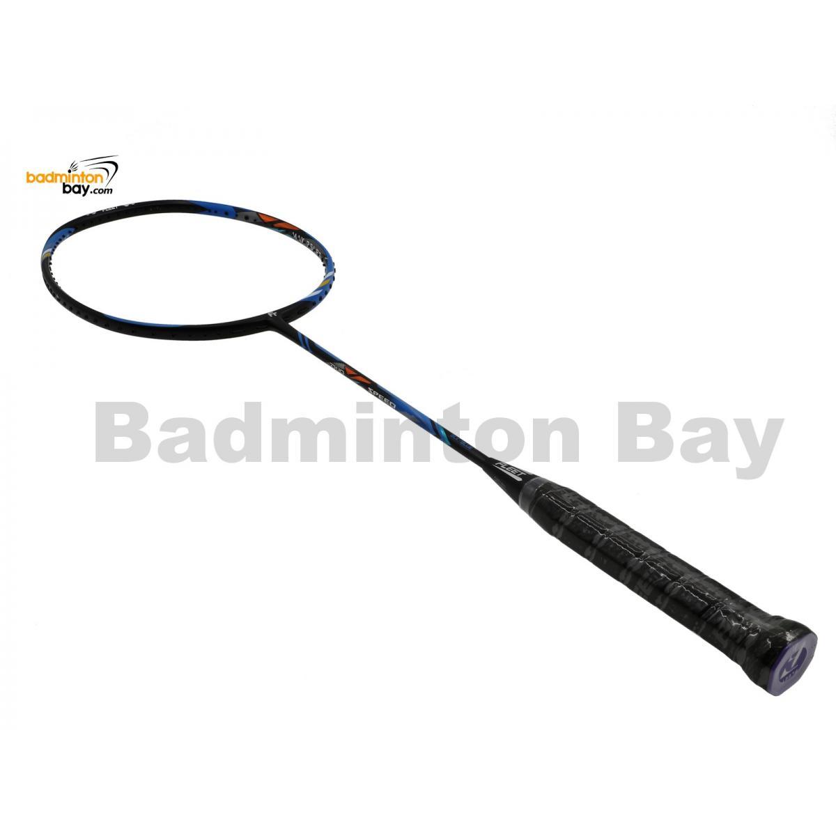 Fleet Duo Speed Black Blue Badminton Racket (4U)