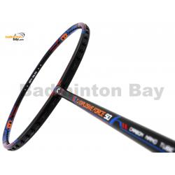 FELET TJ Explosive Force 50 Black Blue Red Badminton Racket (4U)