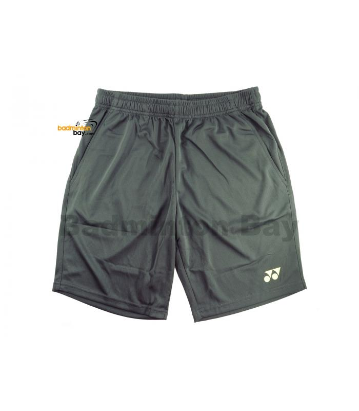 Yonex TruBreeze Quick Dry Sport Shorts Pants S092-1634-BSK19 Ebony (Grey) Lime Light