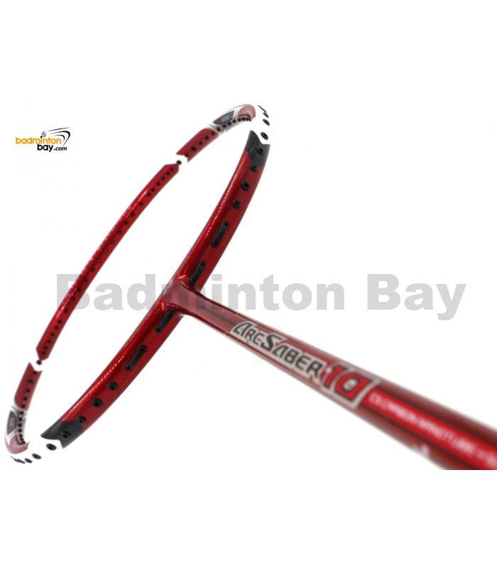 Yonex ArcSaber 10 Red Badminton Racket ARC10NSP-R (4U-G5)