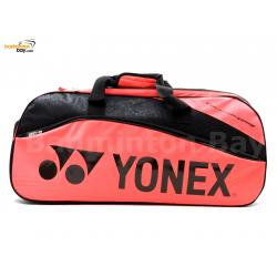Yonex 2 Compartments Thermal Tournament Team Badminton Racket Bag SUNR-9631MSBT6S Bright Red