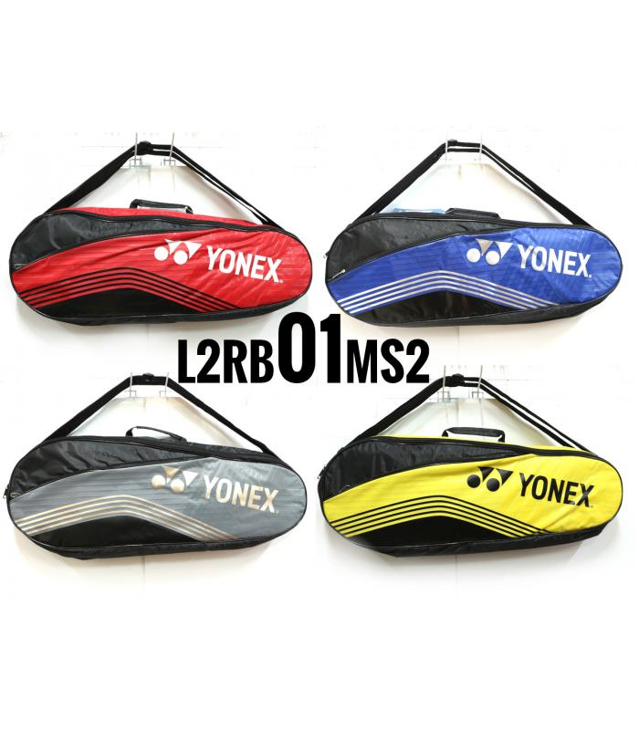 Yonex 2 Compartments Thermal Badminton Racket Bag L2RB01MS2 (01)