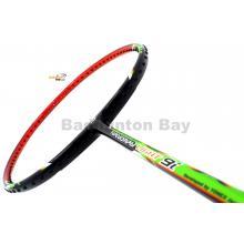 Yonex - Nanoray Light 9i iSeries NR-LT9IEX Black Green Orange Badminton Racket  (5U-G5)