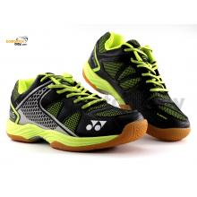 Yonex All England 15 Black Lime Green Badminton Shoes In-Court With Tru Cushion Technology