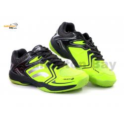 Yonex Akayu 2 Lime Grey Badminton Shoes In-Court With Tru Cushion Technology