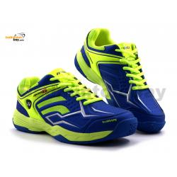 Yonex Akayu S Blue Neon Lime Green Badminton Shoes In-Court With Tru Cushion Technology