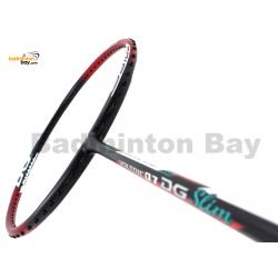 Yonex Voltric 0.7DG Slim Black Red Durable Grade Badminton Racket VT07DGSLEXR (3U-G5)