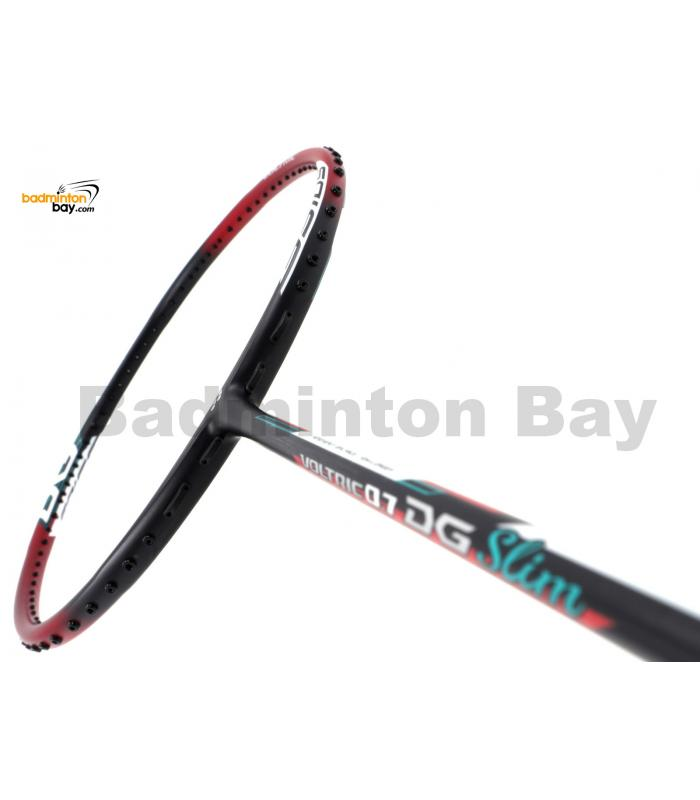 Yonex Voltric 0.7DG Slim Black Red Durable Grade Badminton Racket VT07DGSLEXR (3U-G5)
